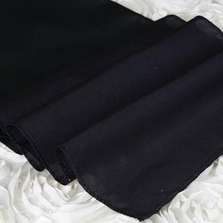 Polyester Table Runner Black