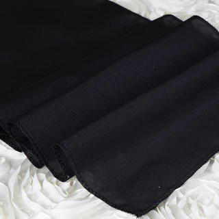 Polyester Table Runner Black