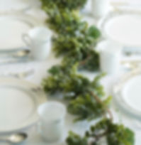 Eucalyptus Boxwood Real Touch Garland 5f