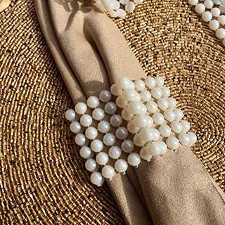 Ivory Pearl Napkin Ring