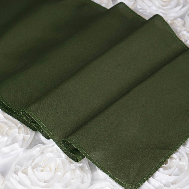 Polyester  Table Runner  Willow Green
