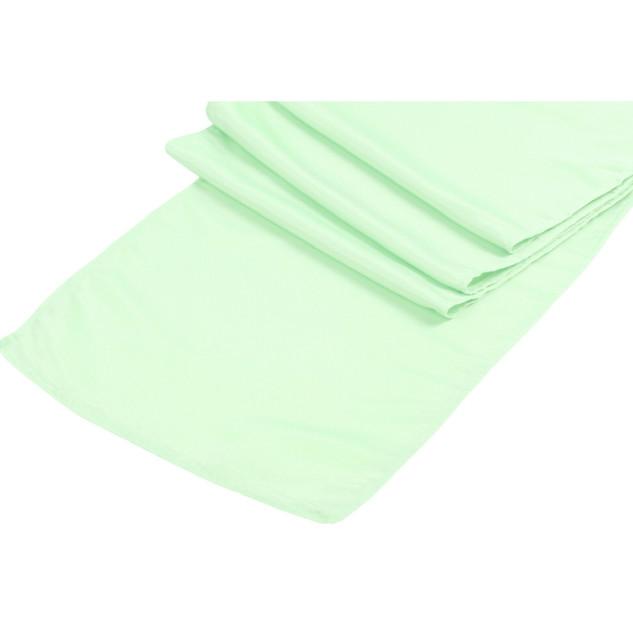 Lamour Satin Runner Mint Green