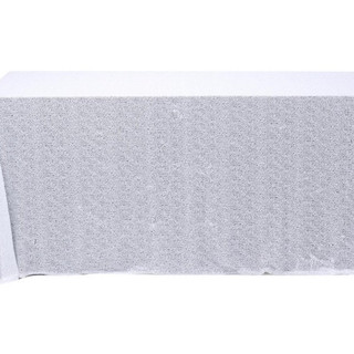 Sequin Rectangle Tablecloth White