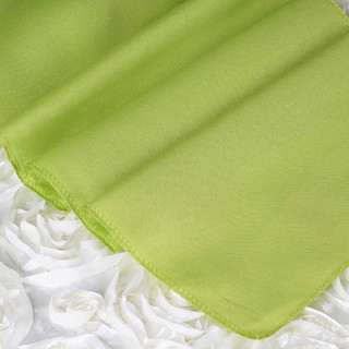 Polyester  Table Runner  Sage Green