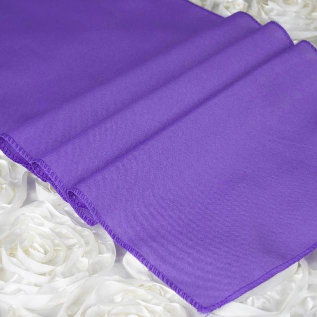 Polyester  Table Runner  Purple