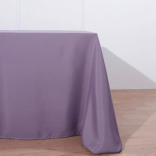 Polyester Rectangle Tablecloth Amethyst