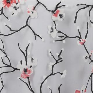 Sheer Organza Cherry Blossom Runner Whit
