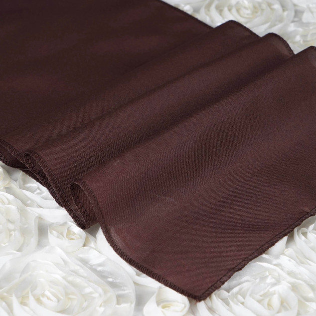Polyester  Table Runner  Chocolate