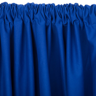 5' x 10' Polyester Backdrop Curtain   Royal Blue