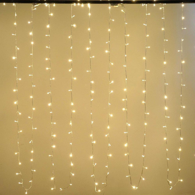LED String Fairy Lights Warm White 30'