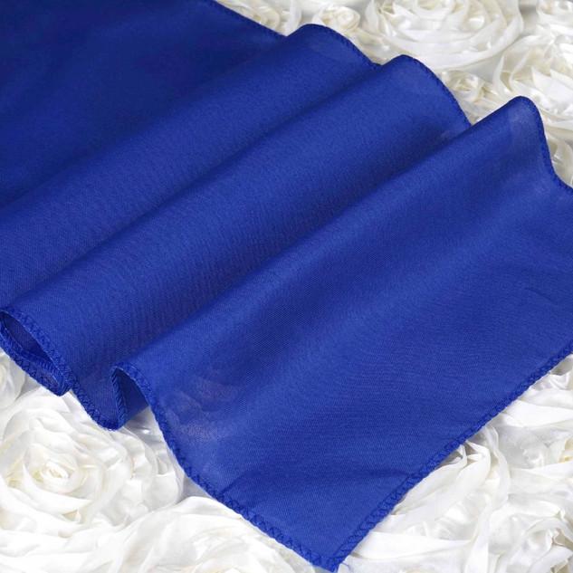 Polyester  Table Runner  Royal Blue