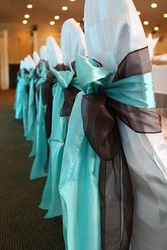Wedding Sash styling - Double Bow