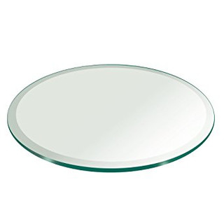 14 inch Round Beveled Mirror