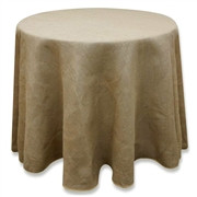 108inch Round Burlap Tablecloth