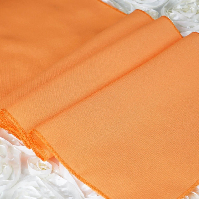 Polyester  Table Runner  Orange