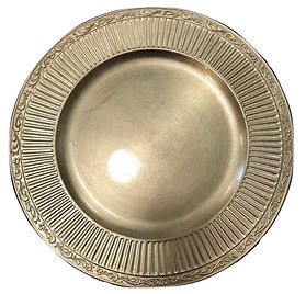 Gold Aztec Acrylic Charger.jpg