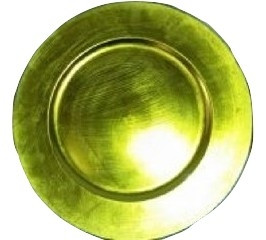 """Acrylic Sage Green Charger Plate 13"""""""