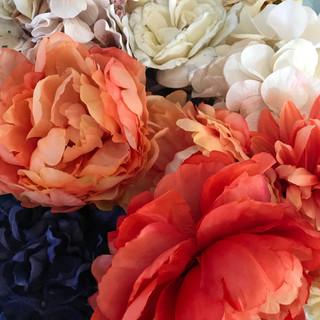 Bulk Flower Heads Coral