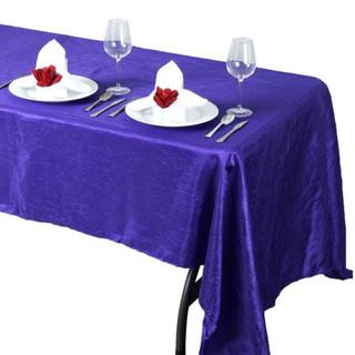 Crinkle Taffeta Rectangle Tablecloth