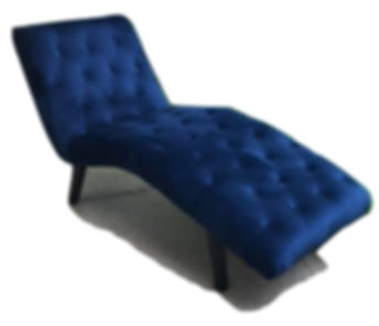 Tufted Chaise Lounge Navy
