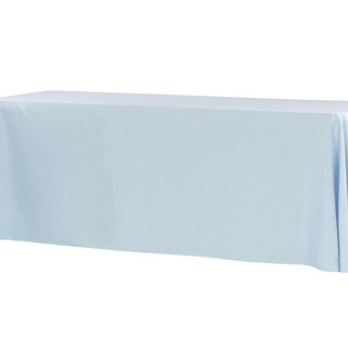 Polyester Rectangle Tablecloth Dusty Blue