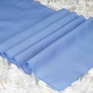 Polyester  Table Runner  Serenity Blue