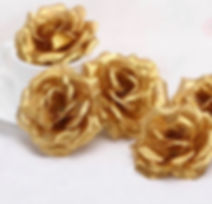 Accent Flowers - Gold