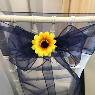 Sunflower Chair Sash Clip