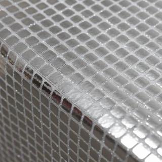 Metal Foil Runner  Silver
