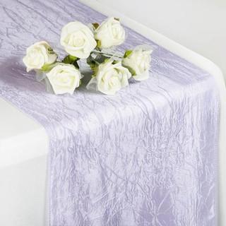 Taffeta Crinkle Runner  Lavender
