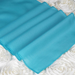 Polyester  Table Runner  Turquoise