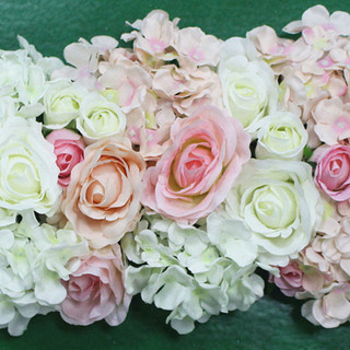 "Canopy Backdrop Flower Row 10"" x 20"""