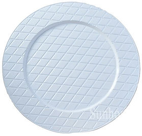 White Woven Charger Plate 13_