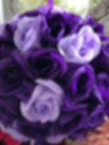 Flower Kissing Ball Purple & Lavender 7_