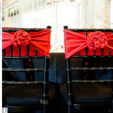 Wedding Sash Styling - Rosette