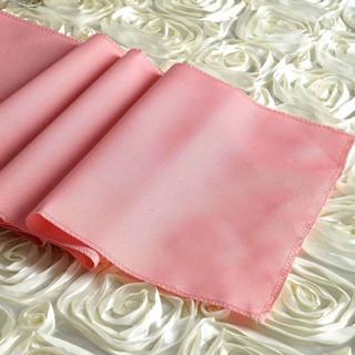 Polyester  Table Runner  Rose Quartz