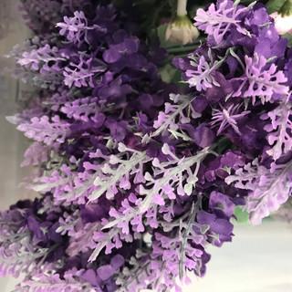 Lavender Stem - Dark Purple & Lavender