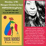 Morgan Christie 1_18 BIPOC writing party