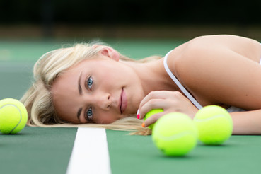 Senior session on the courts