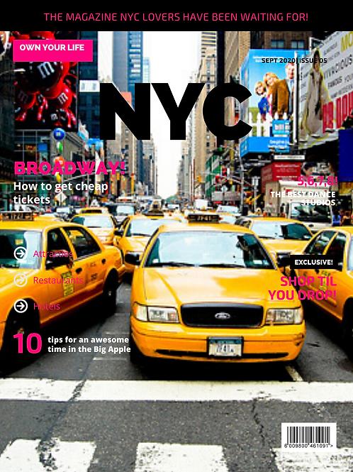 NYC Planner & Magazine
