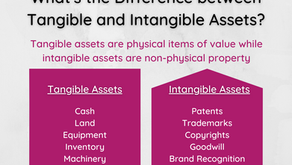 What's the Difference between Tangible and Intangible Assets?