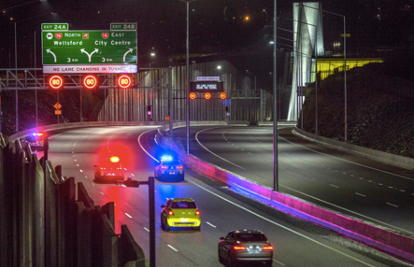 Millions of safe journeys through New Zealand's longest road tunnel