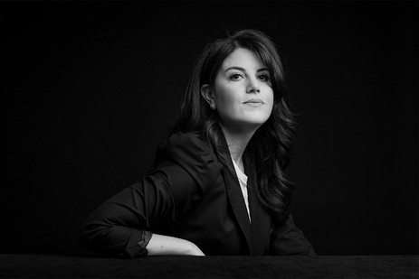 Monica Lewinsky (1973-) US Anti-bullying Campaigner.