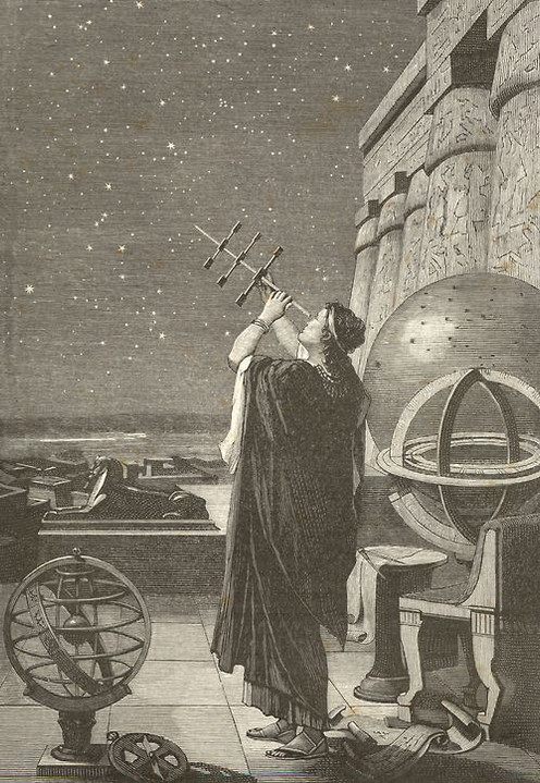 Hypatia (-415 AD) Egyptian Astronomer and Mathematician.