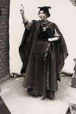 Christabel Pankhurts (1880-1958) British Suffragette.