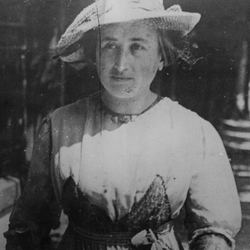 Rosa Luxemburg (1871-1919) Polish Intellectual.