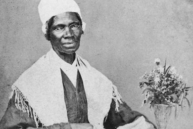 Sojourner Truth (1797-1883) US Abolitionist and Women's Rights Campaigner.