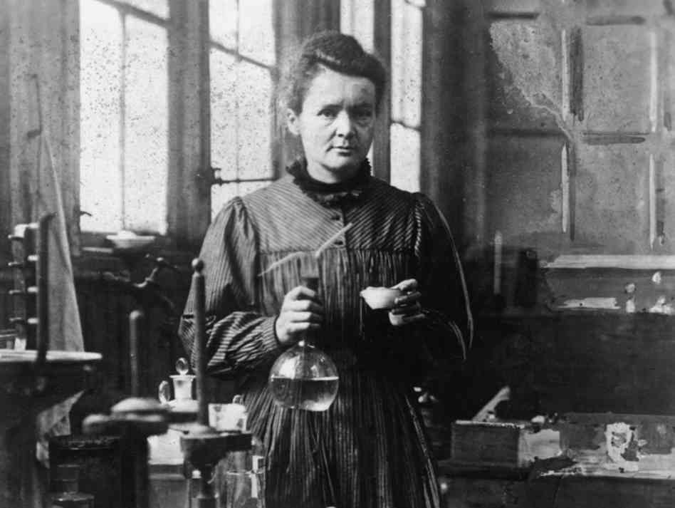 Marie Curie (1867-1934) Polish Physicist and Chemist.