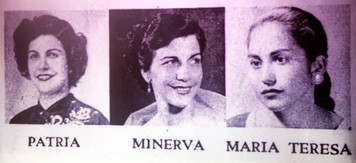 Mirabal sisters (1960) Dominican Political Activists.