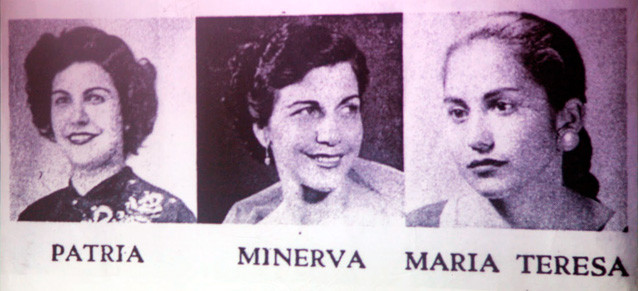 Mirabal sisters (1960) Dominican Political Activists.